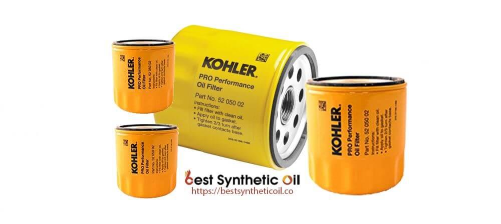 Kohler 52 050 02-S Engine Oil Filter Extra Capacity - Best Synthetic Oil Filter 2019