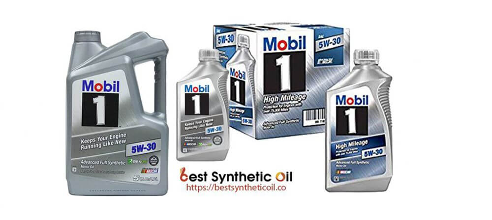 Mobil 1 120764 - Synthetic Oil for Gasoline Engines