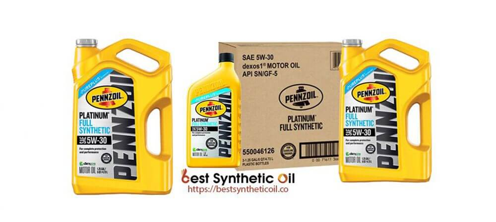 Pennzoil 550046126-3PK - Best Motor Oil for Gasoline Engines