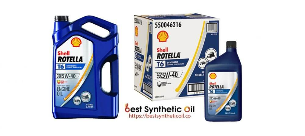 Rotella T6 - Best Synthetic Oil for Vehicles 2020