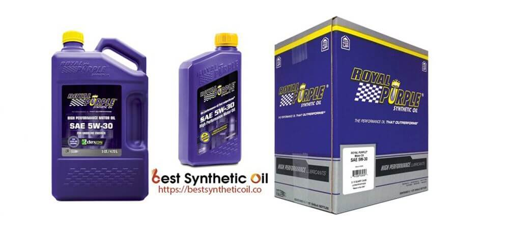 Royal Purple 12530 - Best Expensive Synthetic Oil 2019