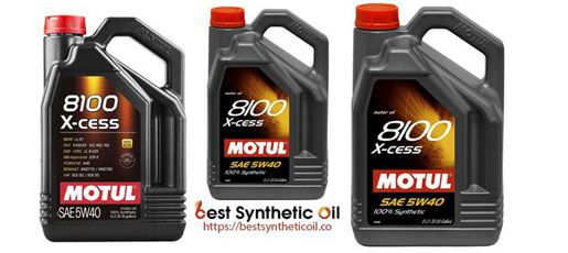 Motul 007250 8100 - Best Budget Synthetic Oil 2020